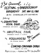 Show Flyer 1982