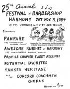 Show Flyer 1984